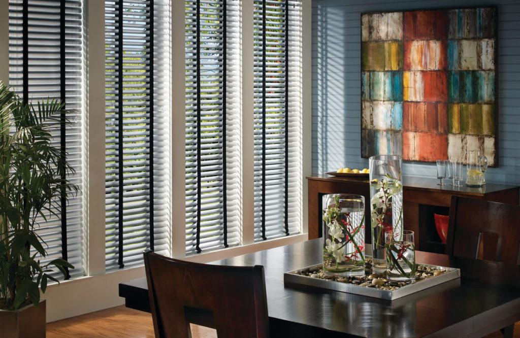Hunter Douglas Precious Metals aluminum blinds