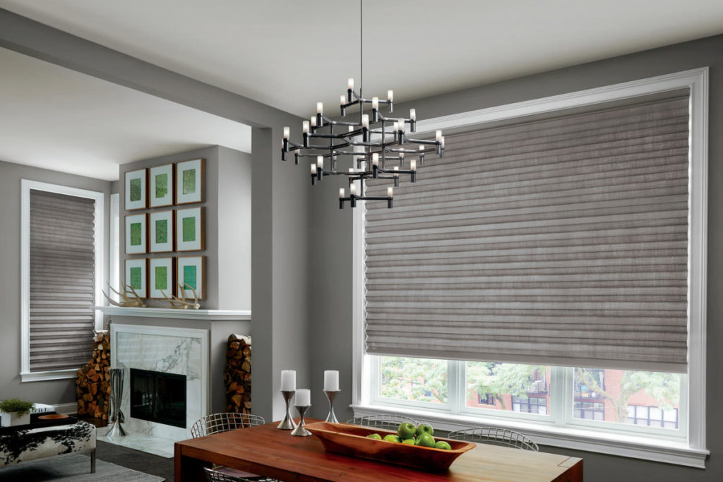 Solera® Roman Shades, Cheslock fabric, frost color